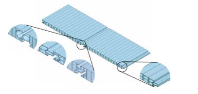 Coupe et pliage sur mesure pour couverture et bardage for Fixation plaque polycarbonate alveolaire